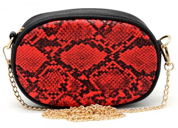 8358b001cd5 T-I3.2 BAG322-002 Festival Belt-Shoulder Bag incl Belt 19x12x7cm Red