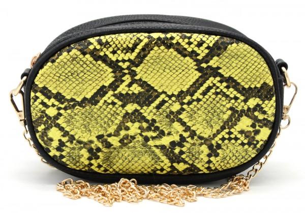 2427fb572f2 L-A6.1 BAG322-002 Festival Belt-Shoulder Bag incl Belt 19x12x7cm Yellow