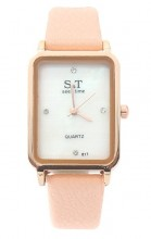 A-B18.2 W523-067 Quartz Watch 28x22mm Pink