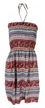L-B6.1 Beach Dress with Beads Onze Size Fits All