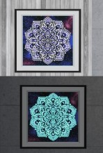 R-E8.2  YGSM41 Diamond Painting Full Set Glow In the Dark 35x25cm
