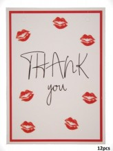 Giftcard for Jewelry Thank You 10.5x14.8cm   12pcs