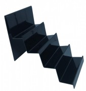 Z-B2.6 PK328-019 Display for 4 Wallets 25x20x15cm Black