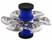 Spring With Flip Top Spinner Silver