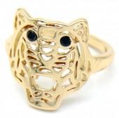 G-E5.5 R532-010G Adjustable Ring Tiger Gold