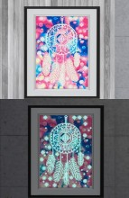 T-M8.1 YGSM36 Diamond Painting Full Set Glow In the Dark 35x25cm
