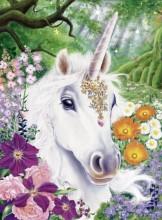R-G4.1 RSB8318 Diamond Painting Set Unicorn 50x40cm