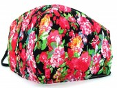 D-A10.2 SKA514 Cotton Fashion Mask with Room for Filter Washable - Flowers