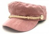 T-K7.1 HAT402-001 Sailor Cap Rib Fabric Pink
