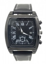 C-B16.2 W421-004B Quartz Watch with Date 40x45mm Black
