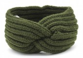 Q-B6.1 H401-001G Knitted Headband Green