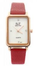 A-C15.3 W523-067 Quartz Watch 28x22mm Red