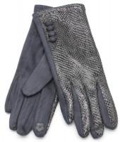 S-B3.1 GLOVE403-002E Gloves Shiny Snake Grey