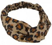 S-J1.4 H305-144A3 Headband Leopard Print Brown
