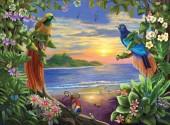 Q-A7.2 X235 Diamond Painting Set Paradise Birds 40x30cm