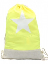 T-J4.1  BAG325-001 Backpack with Star 50x33cm Yellow