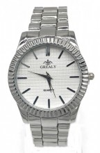 C-C19.2 W421-003A Quartz Metal Watch 37mm Silver