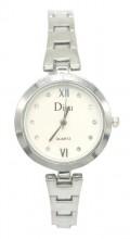 E-A3.1 W002-008 Metal Quartz Watch 27mm Silver