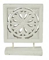 Z-C3.2 Concrete Ornament White Wash 32cm
