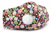 T-K4.1 GM046-010D Face Mask - Individually Packed with room for Filter Flowers