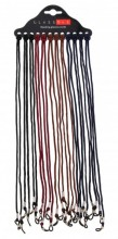 F-A18.1 Glasses Cord Mixed Colors 12pcs