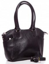 T-J1.2  BAG-788 Luxury Leather Bag 39x24x10cm Black