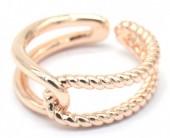 E-B4.3 R2019-002RG Metal Ring Adjustable Rose Gold