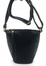 R-N6.1 BAG546-023A PU Bag 17x17x8cm Black