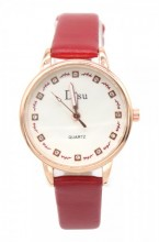 A-A19.4 WA001-010 Quartz Watch with PU strap 30mm Red