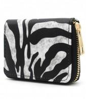 WA214-001 Small Wallet with Zebra Print
