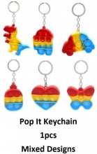 Z-C2.2 Pop it Keychain - Mixed Designs