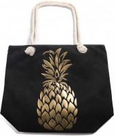 Z-A3.2 BAG530-004 Beach Bag Shiny Pineapple
