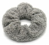 S-H1.4 H305-027A Scrunchie Teddy Grey