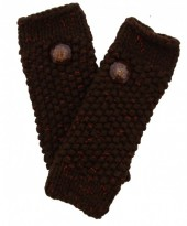 I-B19.1  Hand Warmers with Glitters Brown