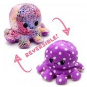 R-I7.1 T1209-001 Reversible Octopus 20cm Shiny Purple-Pink