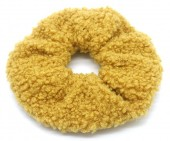 S-H5.2  H305-027C Scrunchie Teddy Ocher Yellow