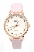 A-D4.4  WA001-010 Quartz Watch with PU strap 30mm Pink