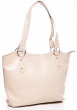 S-C2.1 BAG-553 Leather Bag 40x28x11cm Beige