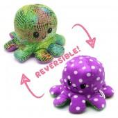 R-M6.2 T1209-001 Reversible Octopus 20cm Shiny Purple-Green