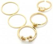 C-C20.4  R426-004G Ring Set 5pcs Gold #19