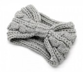 T-K3.2 H401-007D Knitted Headband Grey