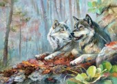 Z-A1.2 RA3148 Paint By Number Set Wolves 40x30cm