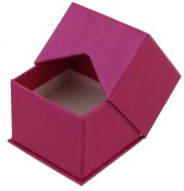 X-O4.1  Luxury Giftbox for Rings 5x5x4cm Pink 10pcs