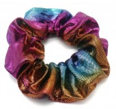 S-F2.2 H307-003B Scrunchie Metallic Multi