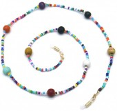 D-C20.1 GL567 Sunglass Chain Beads Multi Color