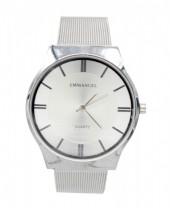 D-B4.3 W001-035 Metal Watch 40mm Silver