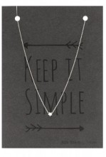 B-E18.3 SN104-019 Necklace 925 Sterling Silver with Star