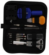 Luxury Tool Set for Watches in Black Case