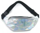 T-I2.2 BAG524-004C Waist Bag Metallic White