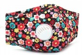 T-A4.1 GM046-010A Face Mask - Individually Packed with room for Filter Flowers